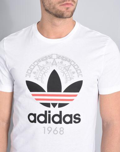 ekte billig online Adidas Trefoil Tee Shirt billig nyeste utløpstilbud 01iqWTnYu