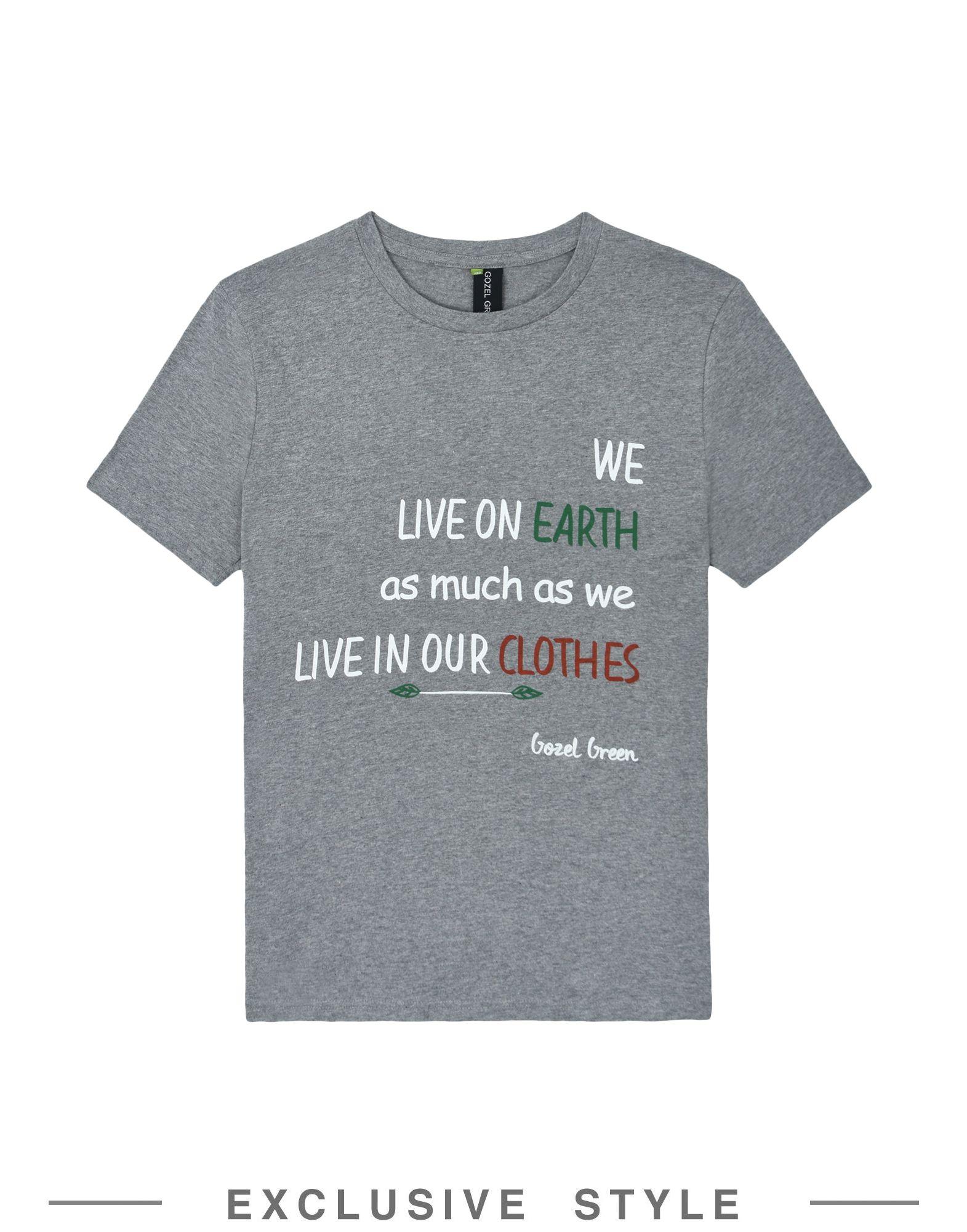 T-Shirt T-Shirt T-Shirt Gozel verde donna - 12152730UU b47