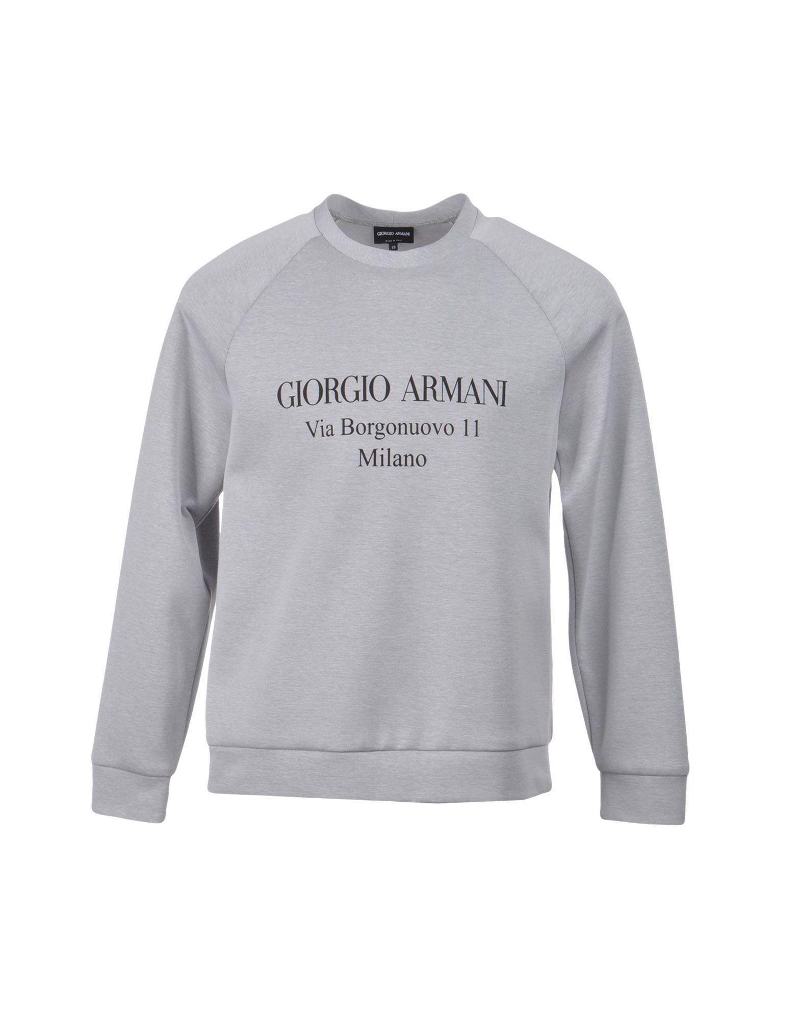 Felpa Giorgio Armani Uomo - Acquista online su