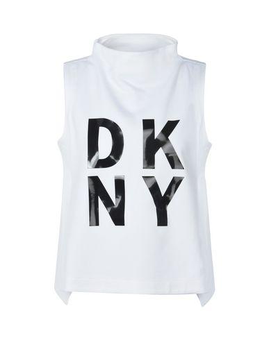rabatt nyte Dkny Sleevls Ppovr Logo Toppen 2014 billig pris utløp geniue forhandler tmSynfI