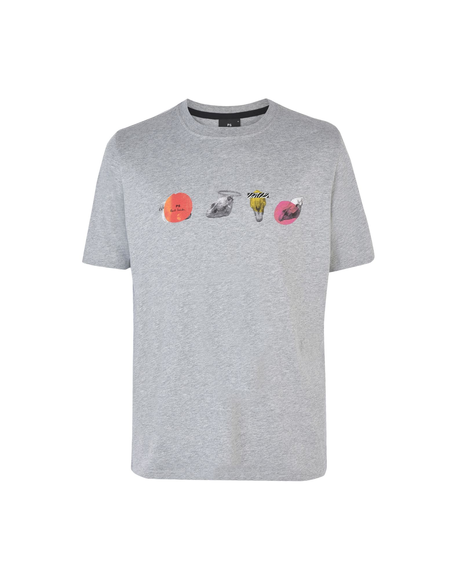 a60aa4bc Ps Paul Smith Mens Ss Reg T-Shirt Zeb Skulls - T-Shirt - Men Ps Paul Smith T -Shirts online on YOOX United States - 12154433