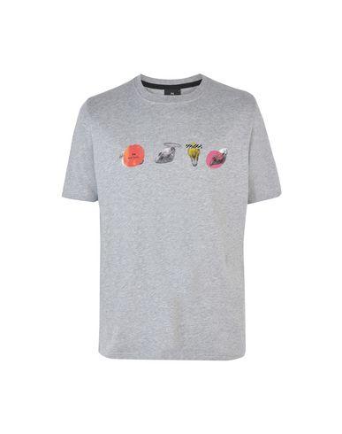 968b6765de411 Ps Paul Smith Mens Ss Reg T-Shirt Zeb Skulls - T-Shirt - Men Ps Paul ...