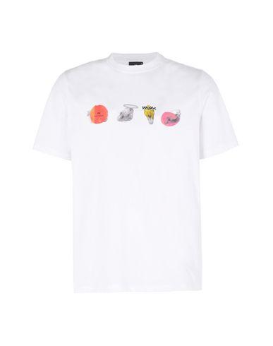 cb0081da Ps Paul Smith Mens Ss Reg T-Shirt Zeb Skulls - T-Shirt - Men Ps Paul ...