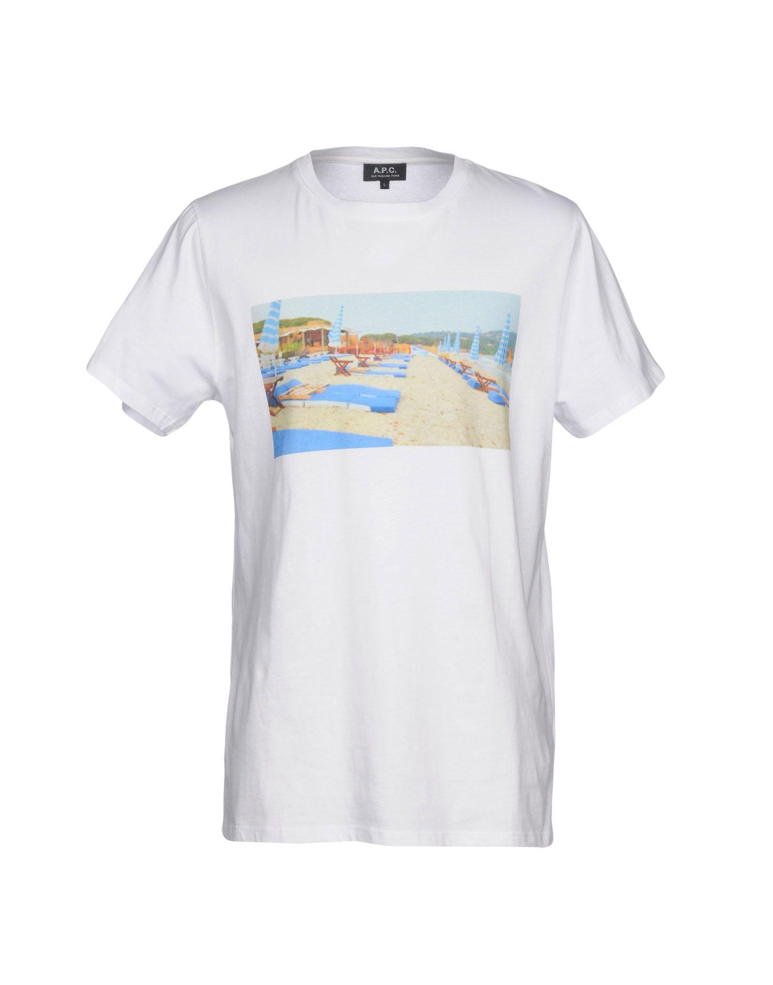 A buon A.P.C. mercato T-Shirt A.P.C. buon Uomo - 12155599CR c38e37