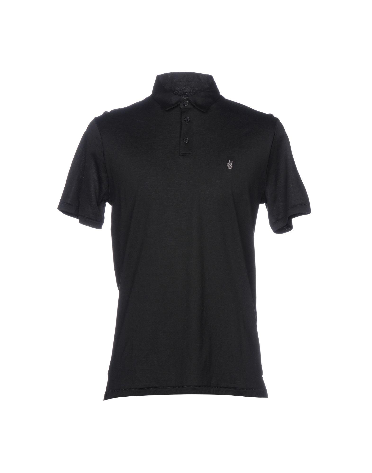 El U Y a s John Camisetas Yoox negro Varvatos Tops 5qSxqw8