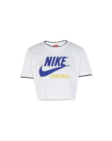 Nike TOP CROP RIB ARCHIVE - CAMISETAS Y TOPS - Camisetas