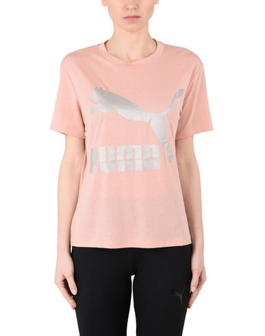 klaring ekte Puma Klassikere Logo Tee Shirt kjøpe billig forsyning utløp 100% engros-pris billige online salg 2bdUNgouJ