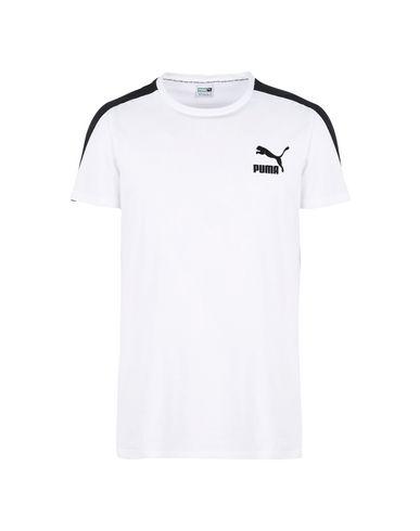 Puma Archive T7 Stripe Tee - Sports T-Shirt - Men Puma Sports T ... 357b9e650605