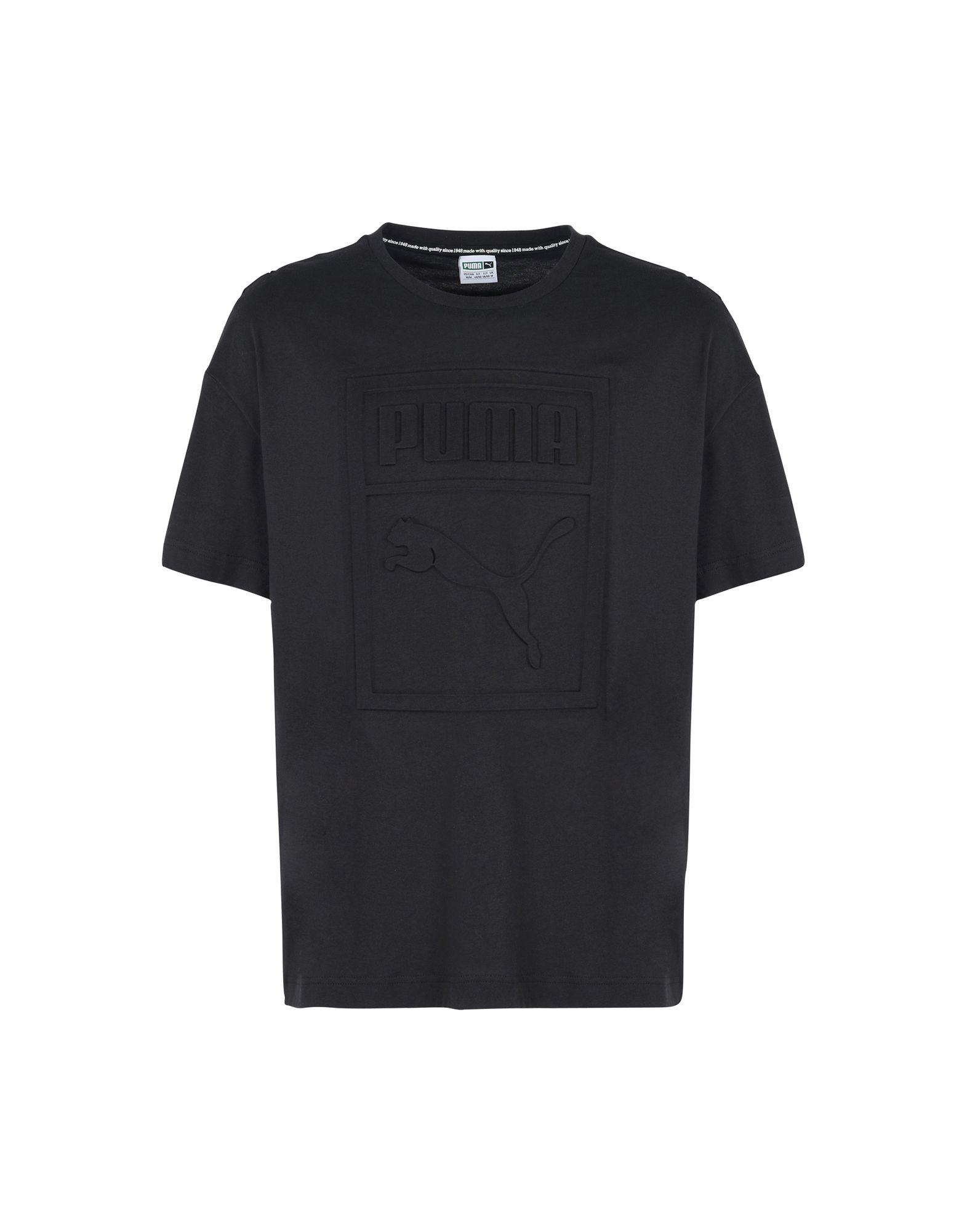 ab79a18ca56 Puma Archive Embossed Print Tee - Sports T-Shirt - Men Puma Sports T-Shirts  online on YOOX United States - 12158642JV