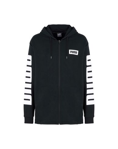 e7c9f8e2f9 PUMA Hooded track jacket - Jumpers and Sweatshirts | YOOX.COM