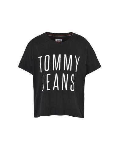 rabatt for salg unisex Tommy Jeans Tjw Beskjærte Logo Tee Camiseta utløp rask levering utløp 100% autentisk koOWSLP