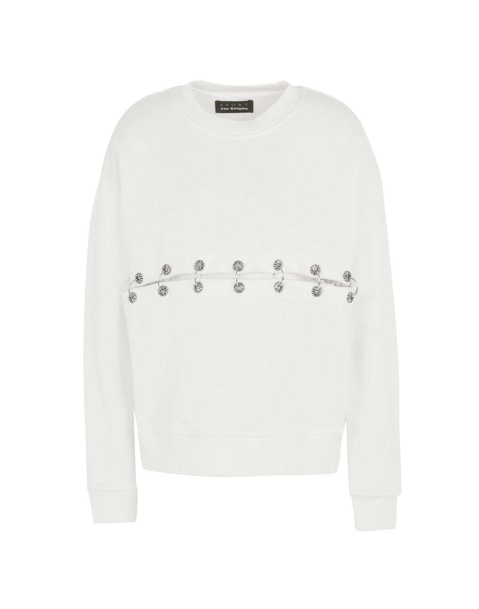 Felpa The Kooples Sport Fleece Sweater With Eyelets - Donna - Acquista online su RgbhDio1R