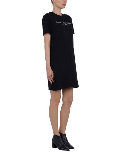 Rabatt Neue Ankunft Steckdose Am Besten CALVIN KLEIN JEANS Kurzes Kleid Günstig Kaufen Sammlungen CwwMMvcHN