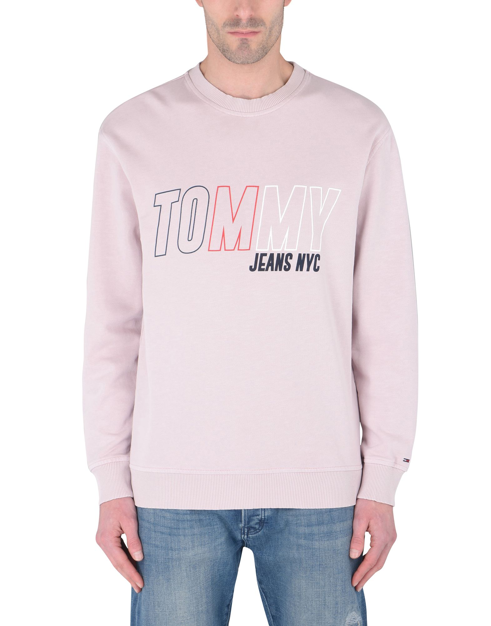 Felpa Tommy Jeans Vintage Tjm Vintage Jeans Graphic Crew - Uomo - 12160098LN 013c00