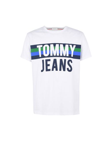 Multi Coloured Mens TJM Colorblock Font Tee B T-Shirt Tommy Jeans Sale Genuine Cheap Sale Inexpensive Free Shipping Really Browse nsKo1B2