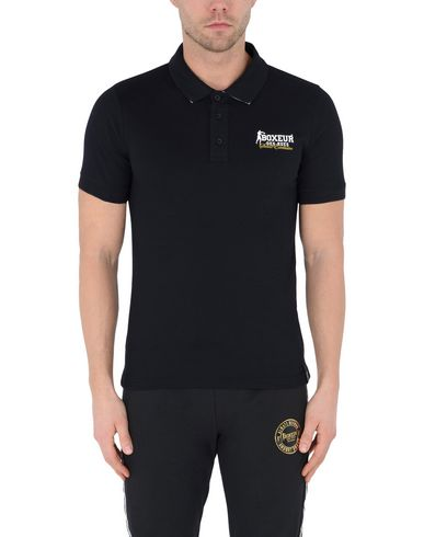 BOXEUR DES RUES POLO SHIRT WITH LOGO ON FRONT AND UNDER COLLAR Sportliches T-Shirt Billig Verkauf Top Qualität CQhY11