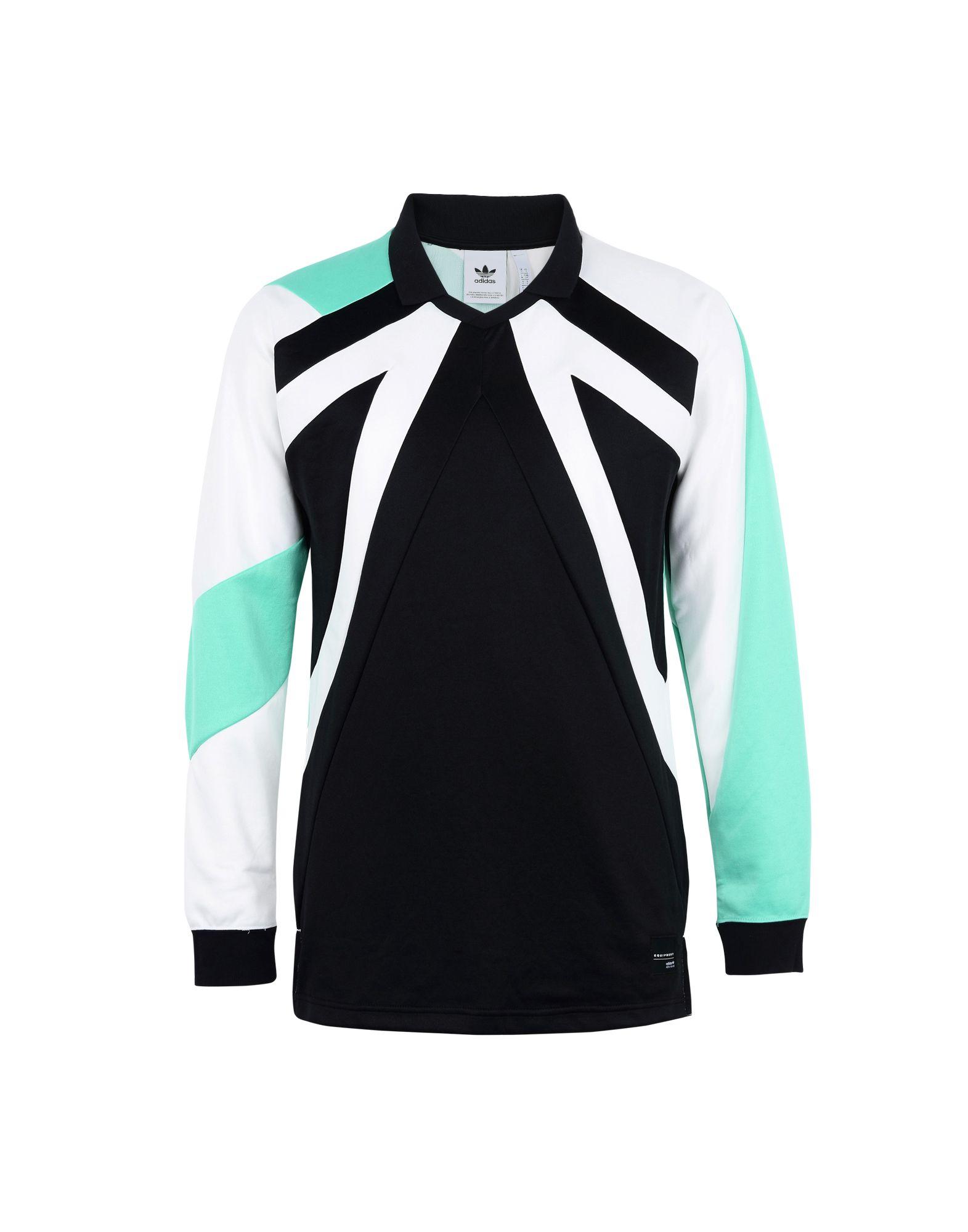 Felpa Felpa Adidas Originals Eqt 18 Ls - uomo - 12161151VP  authentisch