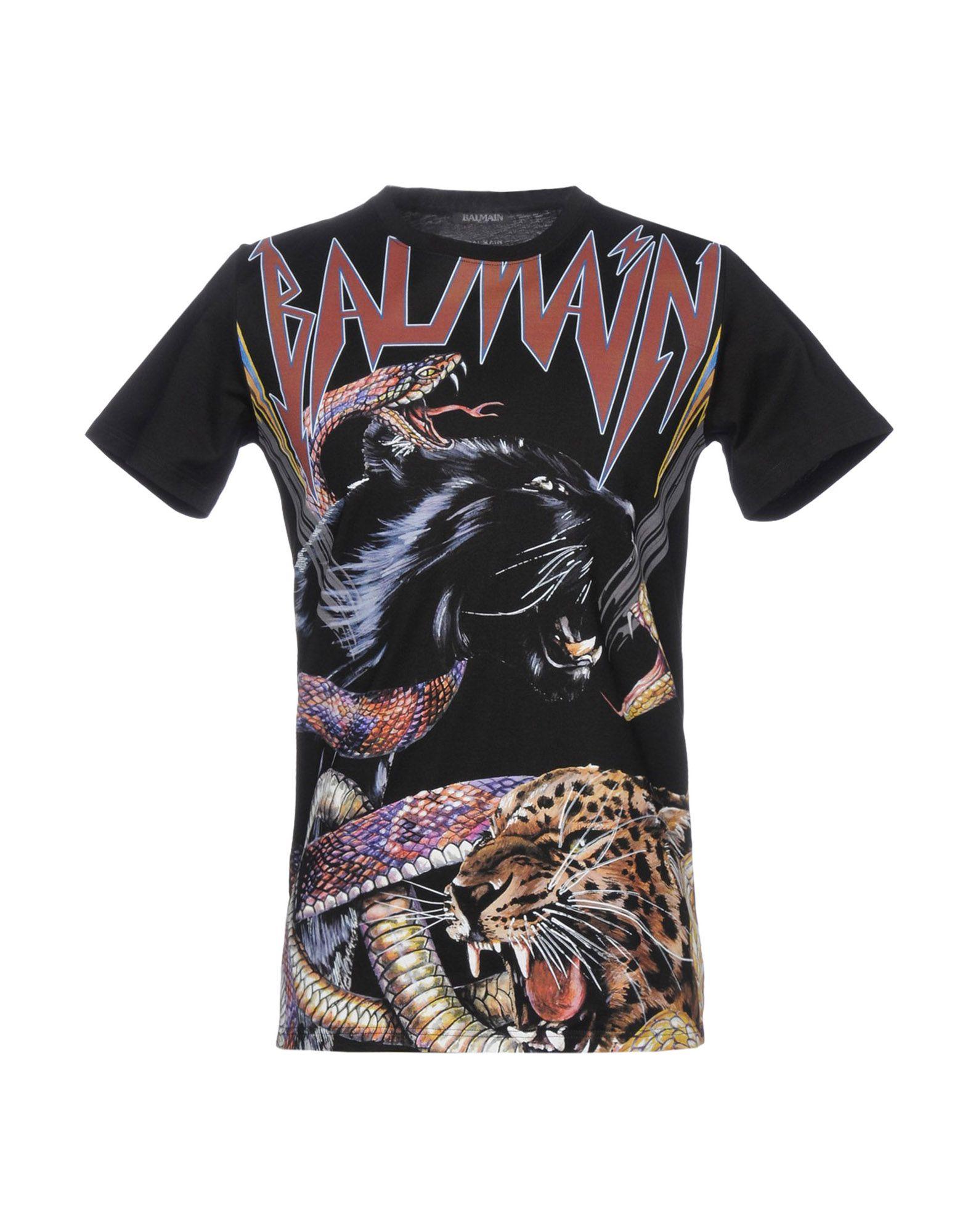 b672fbef Balmain T-Shirt - Men Balmain T-Shirts online on YOOX United States -  12164741IJ