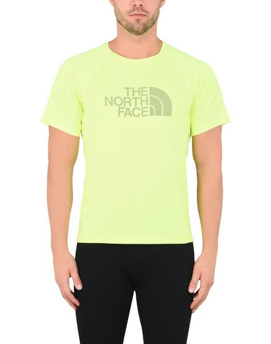 THE NORTH FACE M FLIGHT BTN ATH S/S  DAYGLO YELLOW Camiseta