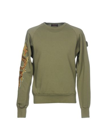BARBED Sweatshirt in Military Green