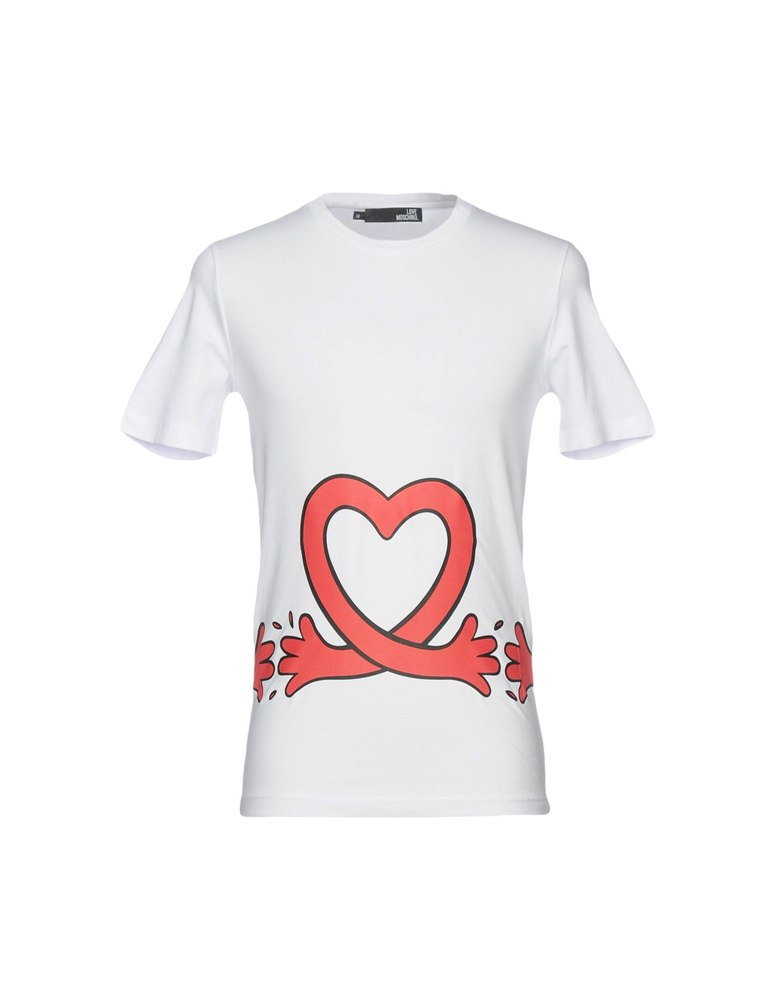 T-Shirt Love - Moschino Uomo - Love 12165813CB a1f4db