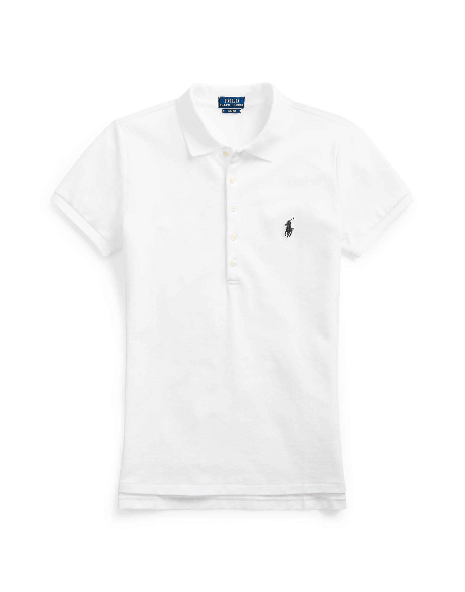 7c94e6288676 Polo Ralph Lauren Skinny Fit Stretch Mesh Polo - Polo Shirt - Women ...