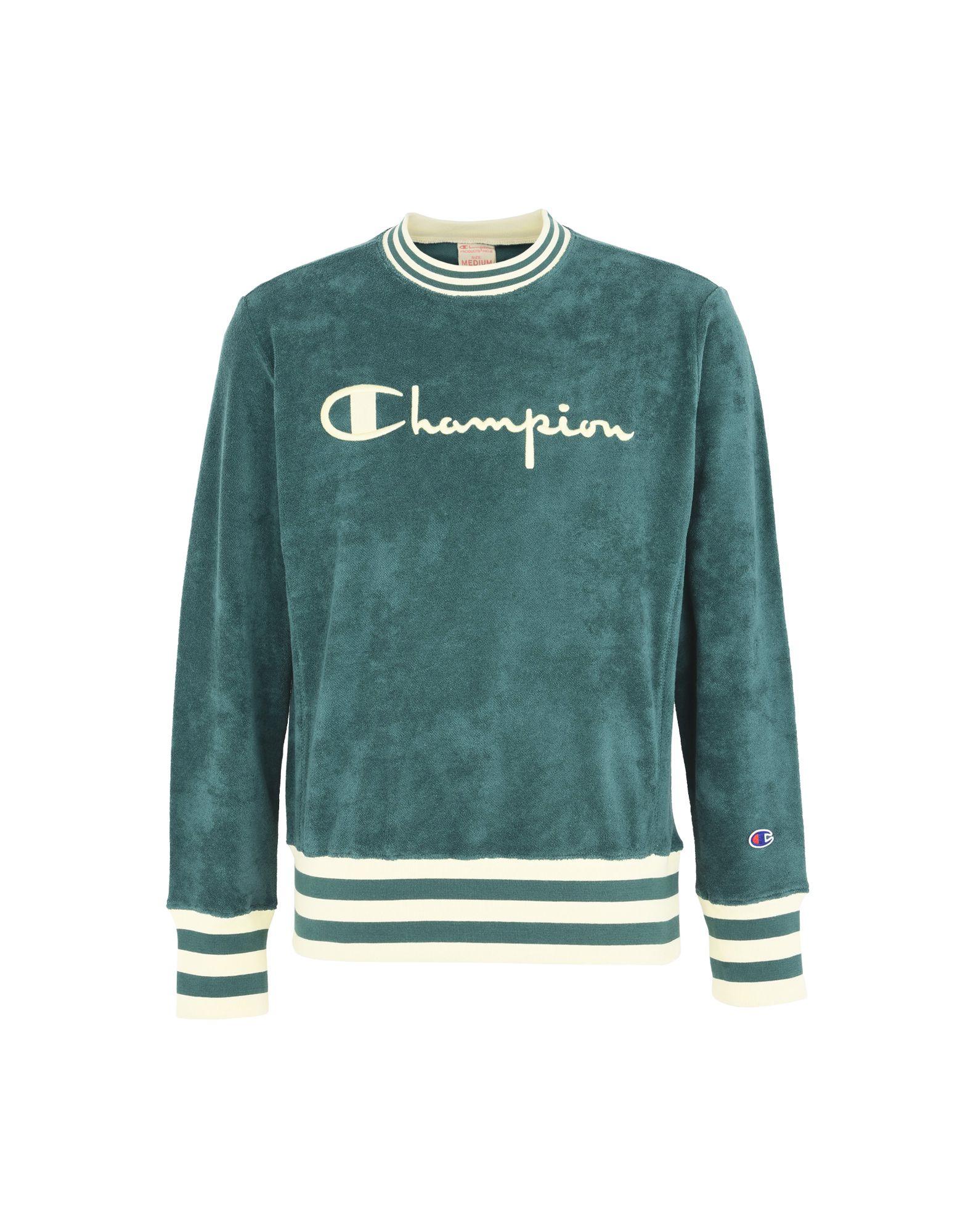 Felpa Champion Reverse Weave Striped Sponge Crewneck Sweatshirt - Uomo - Acquista online su