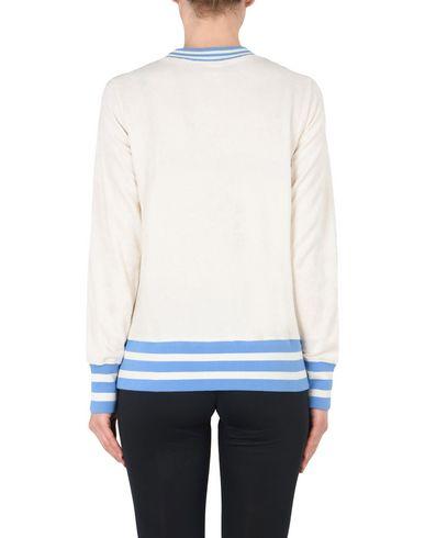 CHAMPION REVERSE WEAVE STRIPED SPONGE CREWNECK SWEATSHIRT Sweatshirt