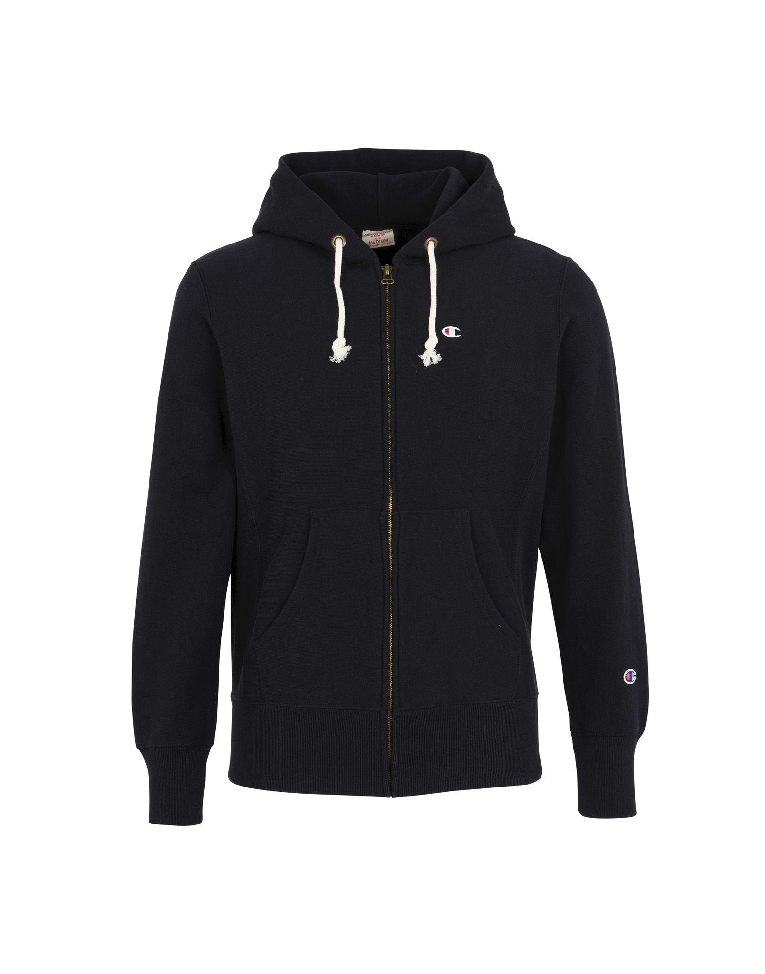 Felpa Champion Reverse Weave Small C Logo Hoodede Full Zip Sweatshirt - Uomo - Acquista online su
