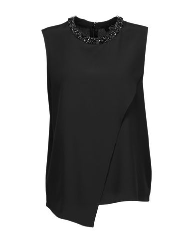MAGASCHONI Silk Top in Black