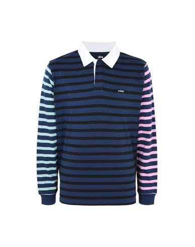 037fd92965 Stussy Jonah Stripe Ls Rugby - Polo Shirt - Men Stussy Polo Shirts ...