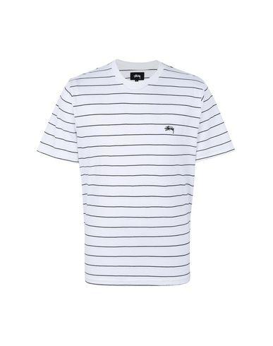 bafffde7ddda6 Stussy Mini Stripe Ss Jersey - T-Shirt - Men Stussy T-Shirts online ...