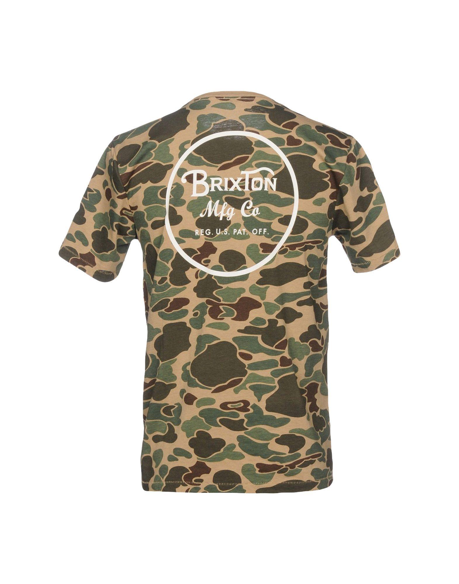 A buon - mercato A buon mercato T-Shirt Brixton Uomo - buon 12167369ML 08555d