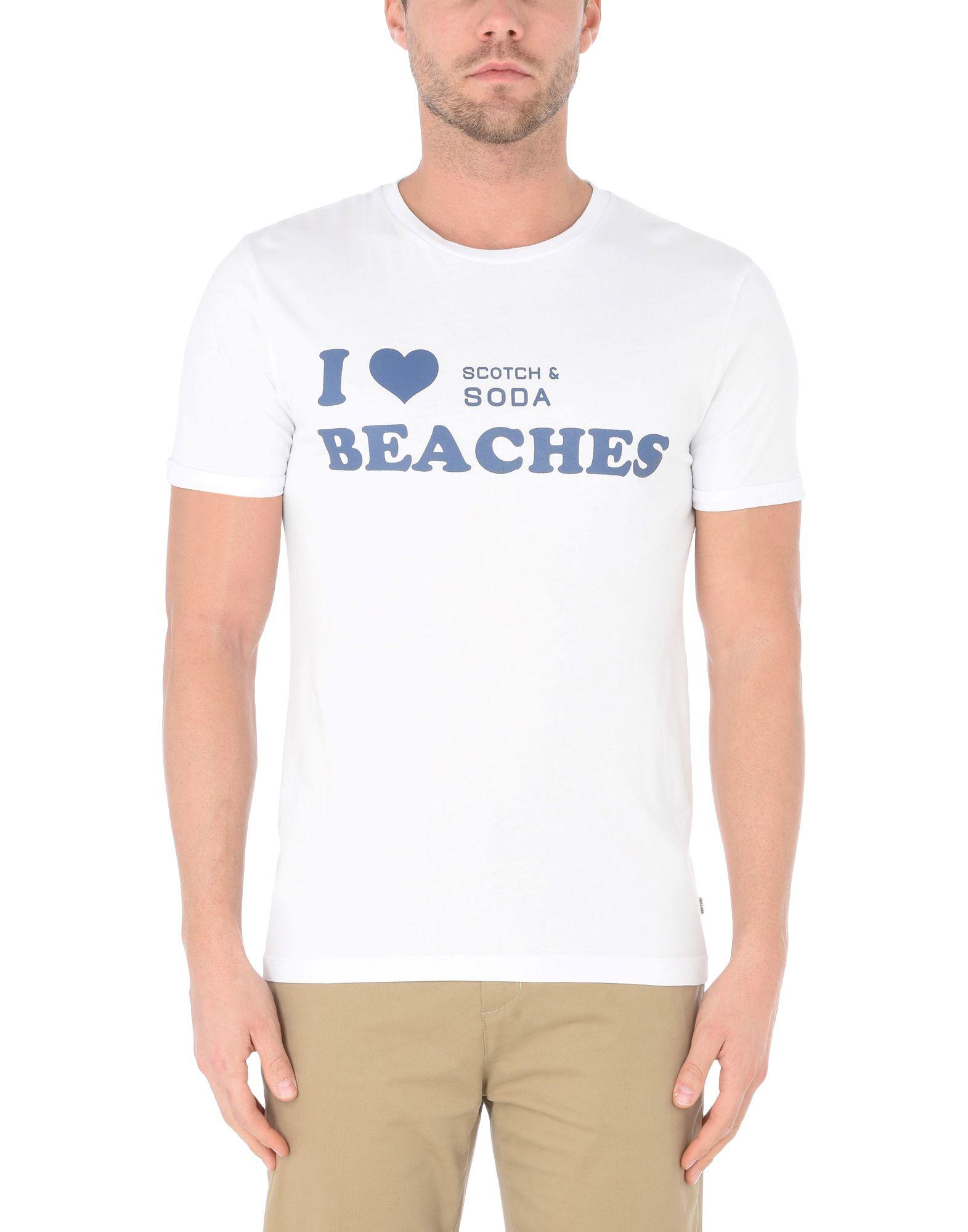 T-Shirt Scotch & & Scotch Soda Uomo - 12167947XG bf9ec5