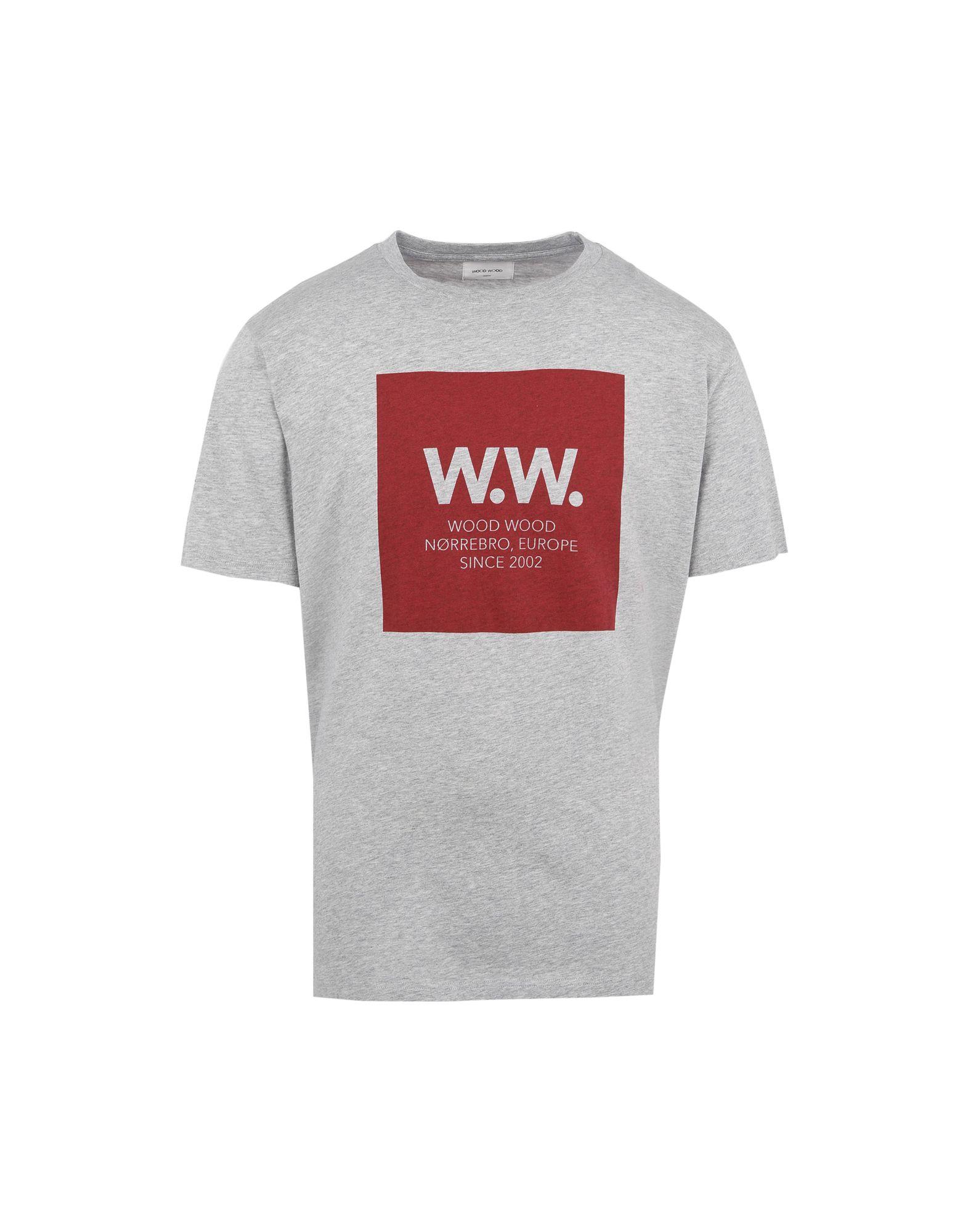 T-Shirt Wood Wood Ww Square T-Shirt Uomo Graphic T-Shirt - - T-Shirt Uomo - 12168136HB a87e58