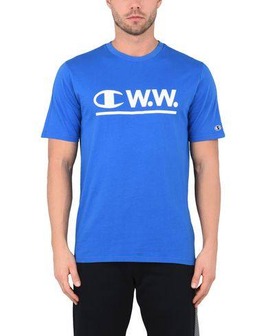 CHAMPION x WOOD WOOD LOGO CWW CREWNECK T-SHIRT Camiseta