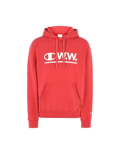 the latest ad419 a552f CHAMPION x WOOD WOOD Hoodie - Pullover & Sweatshirts | YOOX.COM