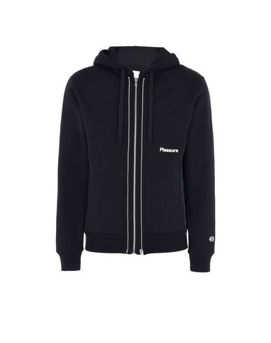 CHAMPION x WOOD WOOD LOGO HOODED FULL ZIP SWEATSHIRT Hoodie