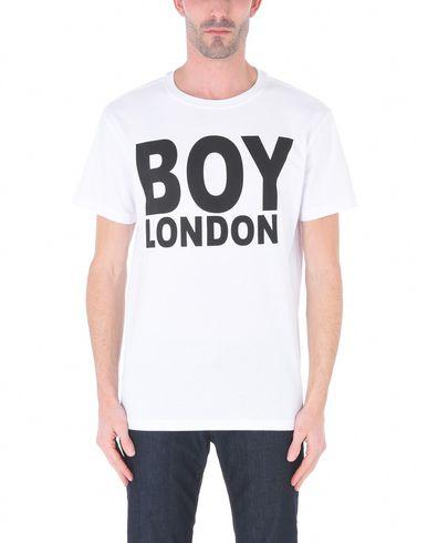 BOY LONDON BOY_SS18BOYLONDONTEE_WHBK, BOY LONDON TEE WHITE / BLACK T-Shirt