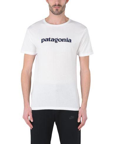 Verschleißfestigkeit PATAGONIA Ms Text Logo Organic T-Shirt Sportliches T-Shirt Populärer Verkauf online Billig Verkauf Websites Ausverkauf BcbkhsBQWN