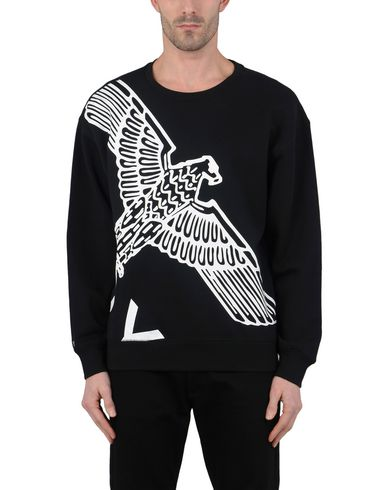 BOY LONDON BOY_SS18WINGSPANSWEAT_BKWH, BOY EAGLE WINGSPAN SWEAT BLACK / WHITE Sweatshirt