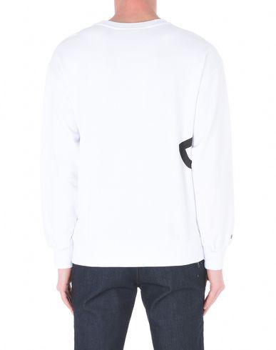 BOY LONDON BOY_SS18WINGSPANSWEAT_WHBK, BOY EAGLE WINGSPAN SWEAT WHITE / BLACK Sweatshirt