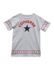 b03659f037 T-Shirt bambina Converse All Star 3-8 anni - abbigliamento Bambina ...