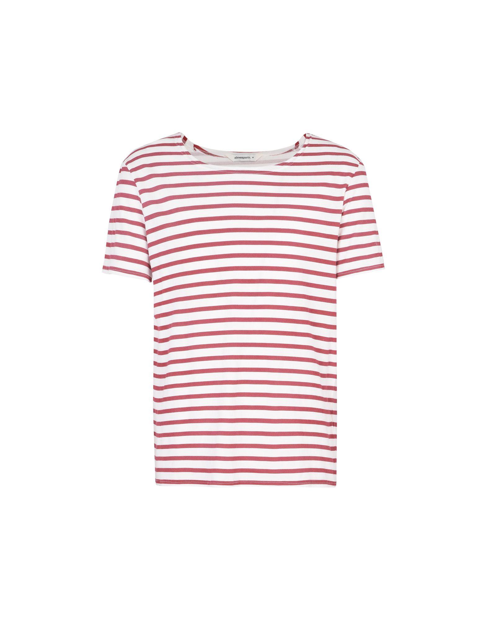T-Shirt 12169378NR Eleven Paris Shell M - Uomo - 12169378NR T-Shirt 34da11