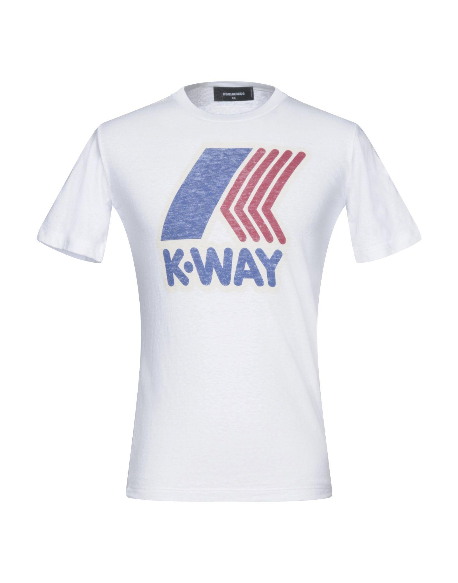T-Shirt Dsquared2 X K-Way Donna - Acquista online su