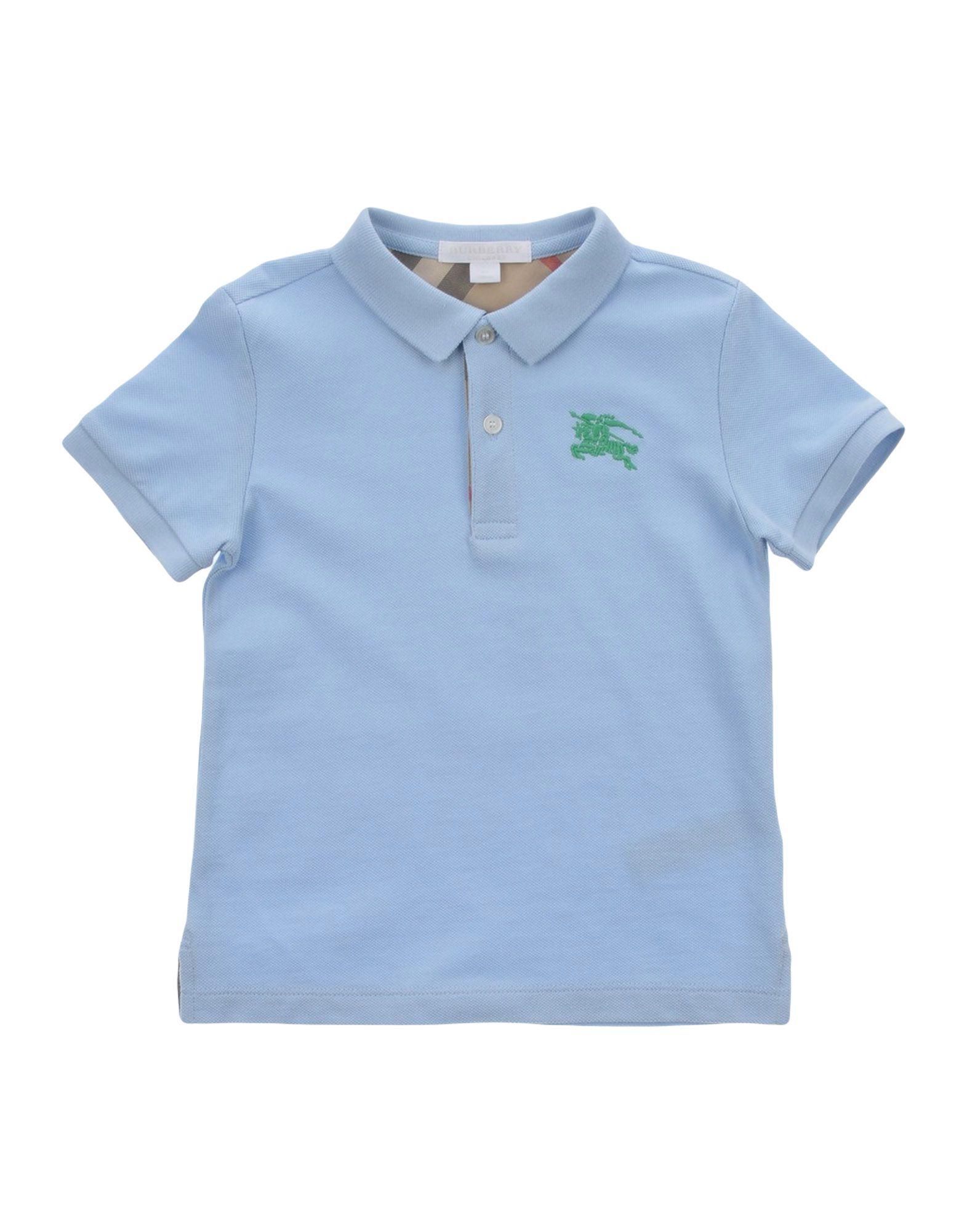 Burberry Polo Shirt Boy 3 8 Years Online On Yoox Hong Kong