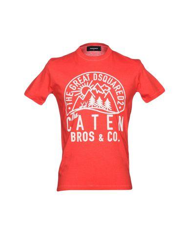 En Hombre Camiseta Dsquared2 Yoox 12175272xw Camisetas CoBWrxEQde