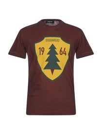 Dsquared2 T-Shirt - Dsquared2 Uomo - YOOX 121c369543d1