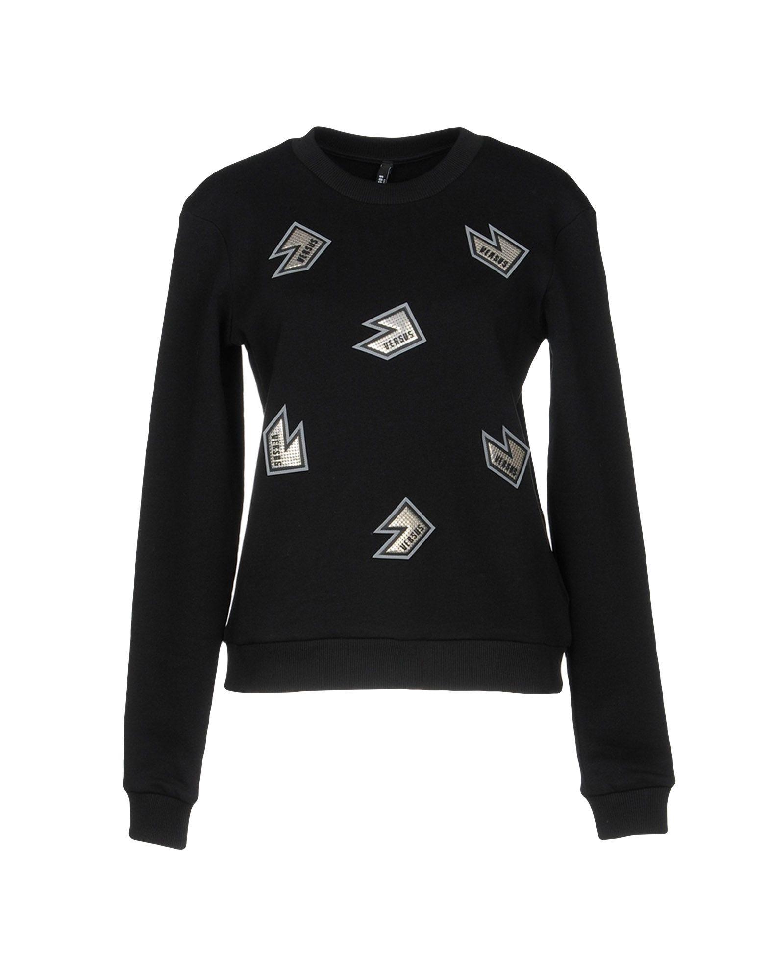 Sweat shirt À Rapport Femme Ligne VersaceAcheter En La Par 5qSc3RLA4j