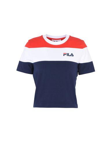 FILA HERITAGE MAYA CUT AND SEW CROP T-SHIRT Camiseta